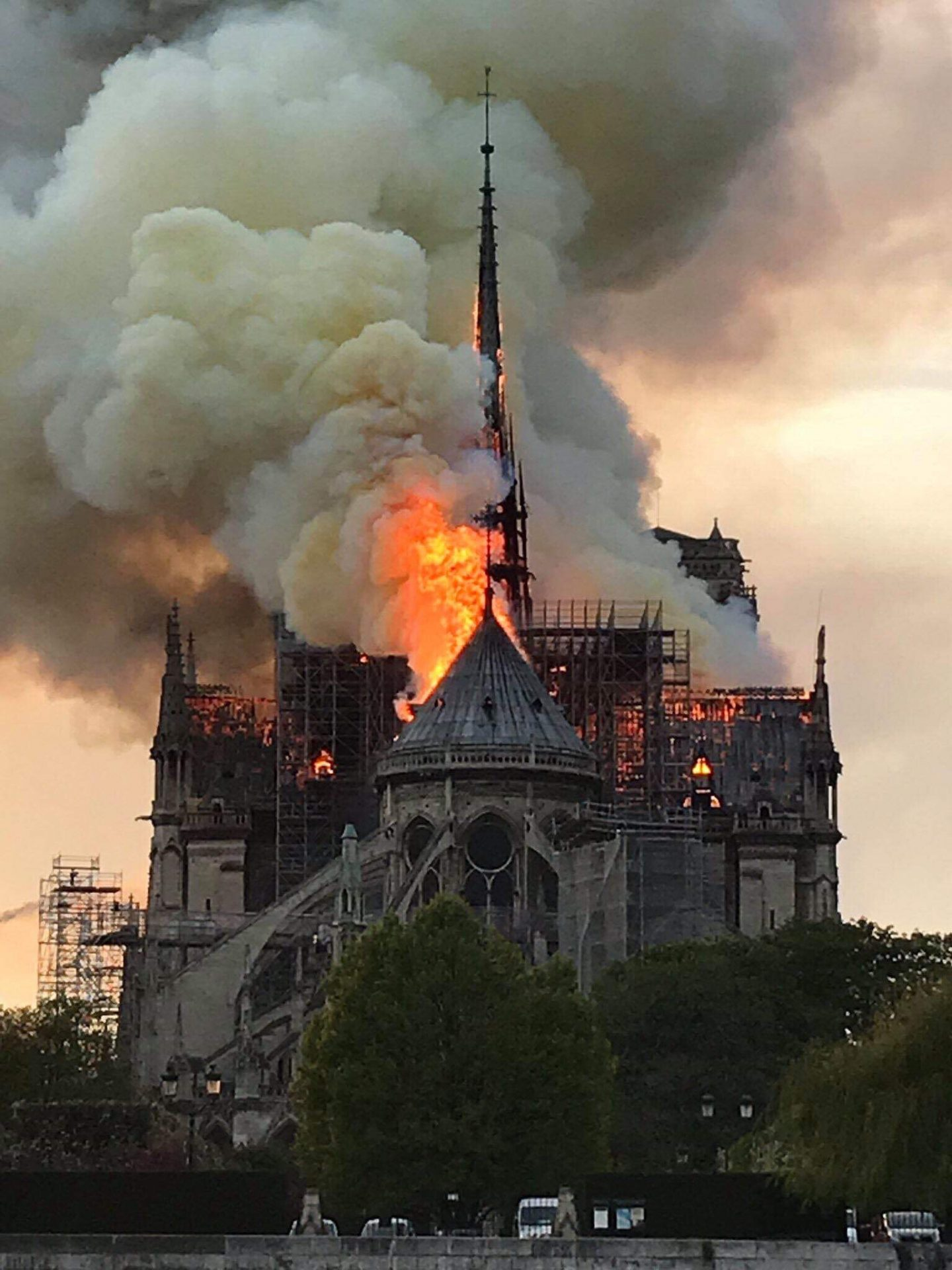 Notre Dame burning – How disaster turned into drama