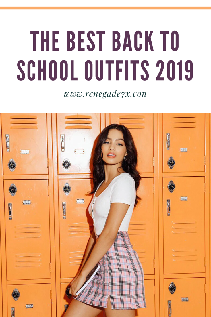 The best Back to school outfits 2019