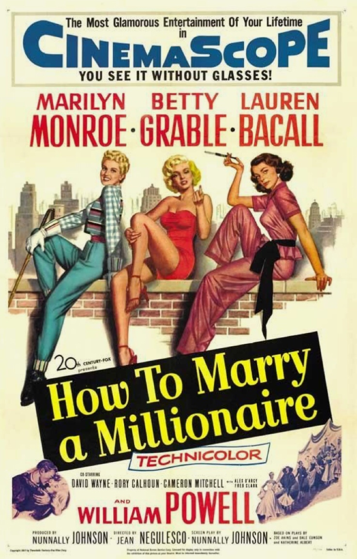 How to Marry a Millionaire with Marilyn Monroe