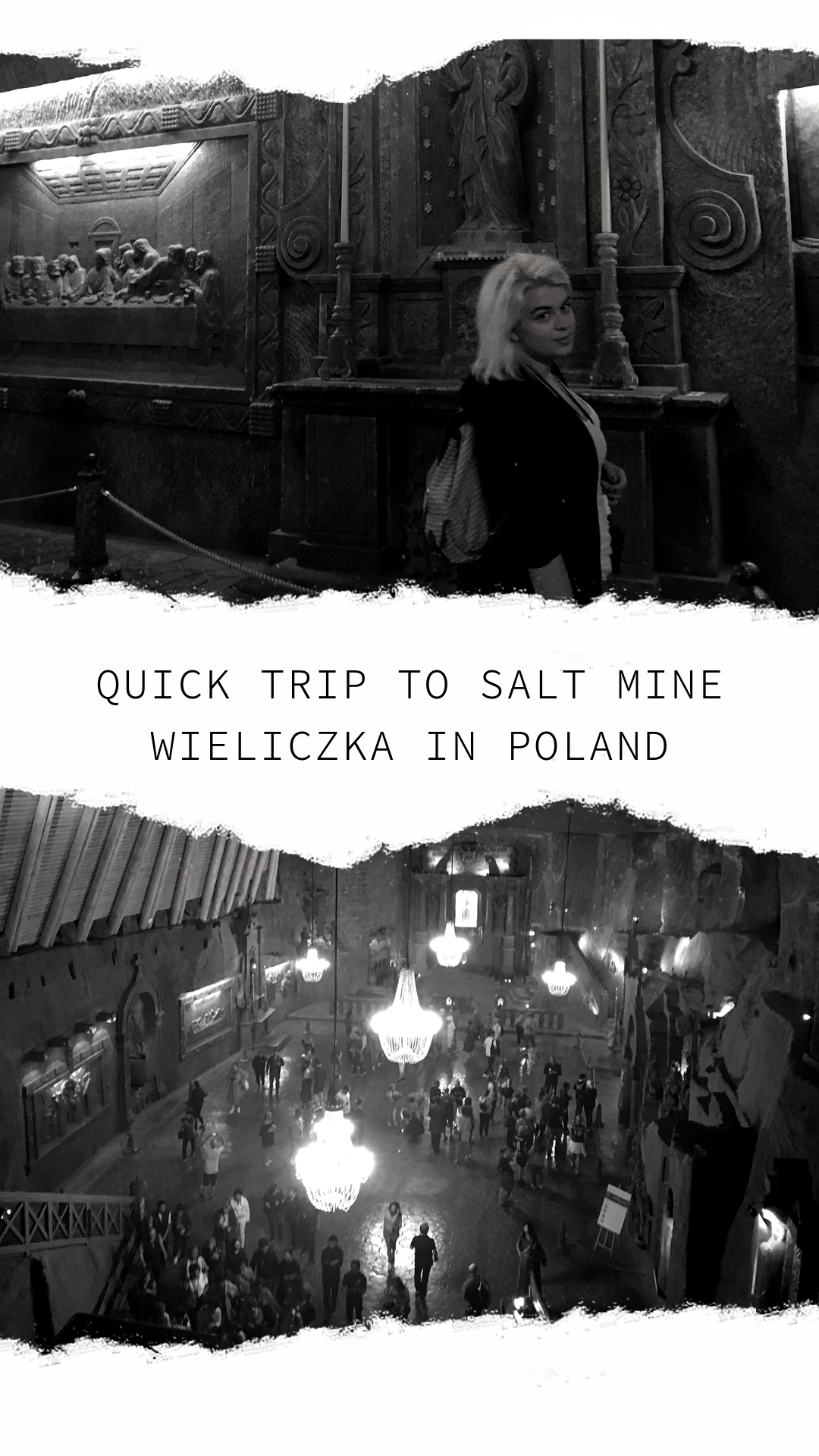 Quick trip to Salt Mine Wieliczka in Poland