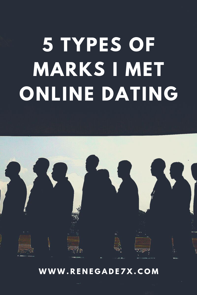 5 types of Marks I met online dating