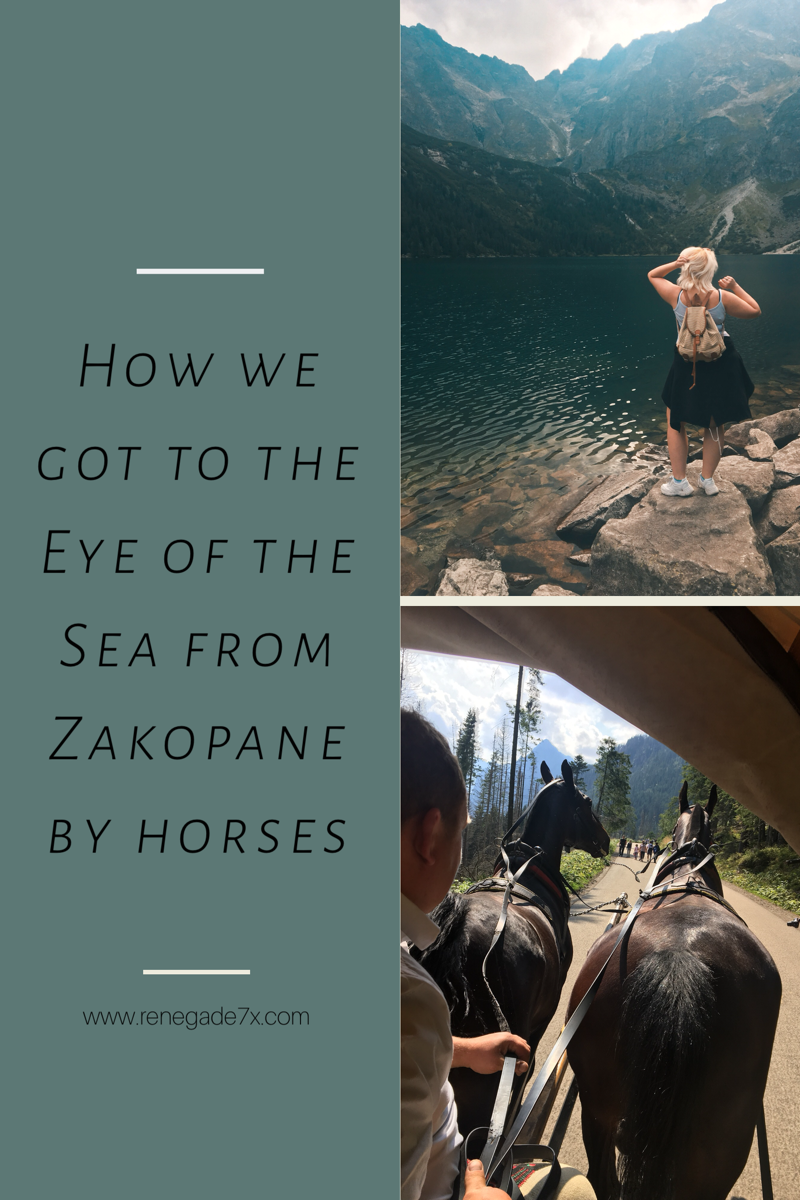 How we got to the Eye of the Sea by horses