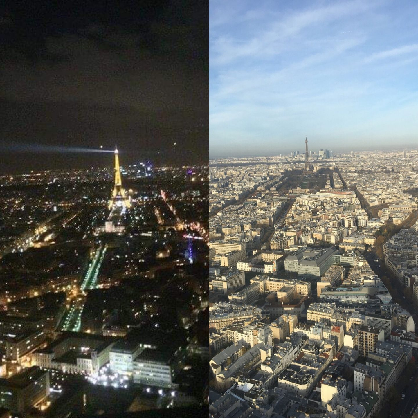 Montparnasse Paris view- Night or Day?