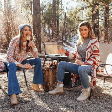 Warm Holiday style with Shein