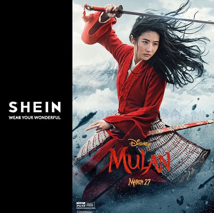 Win 100$ with Mulan and Shein