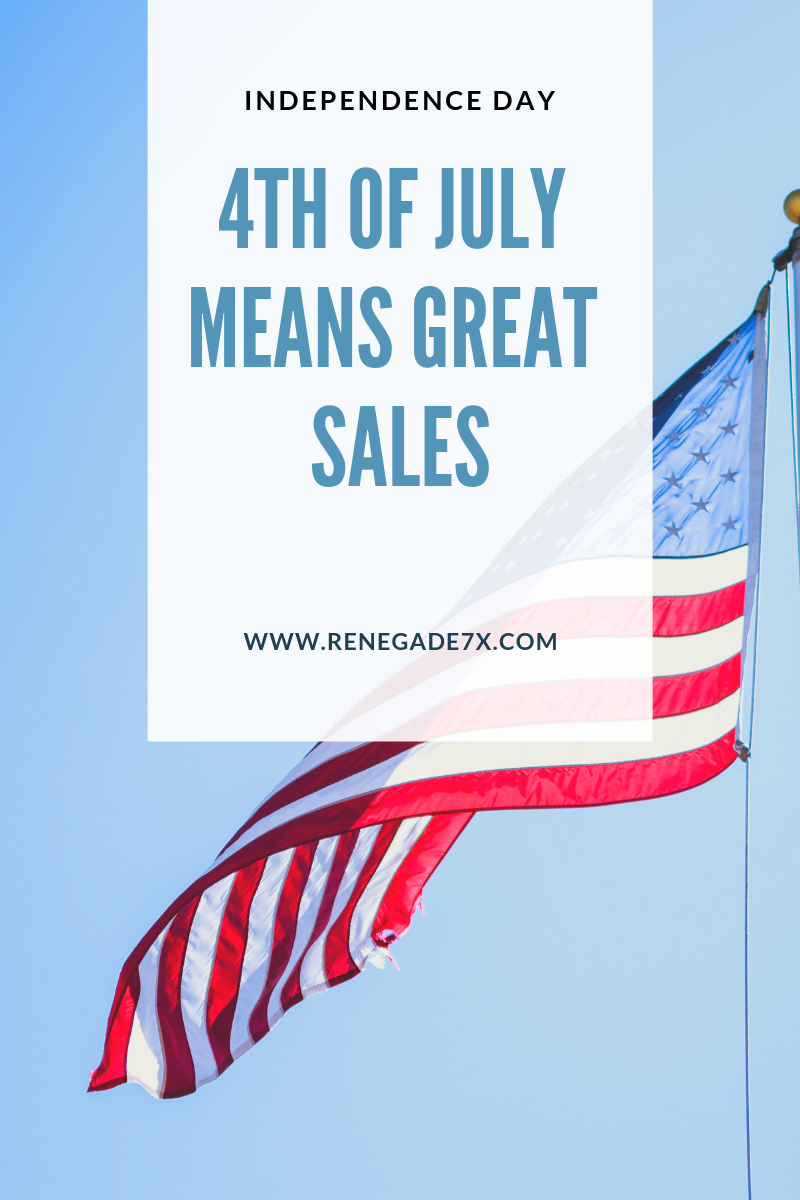 4th of July means great sales