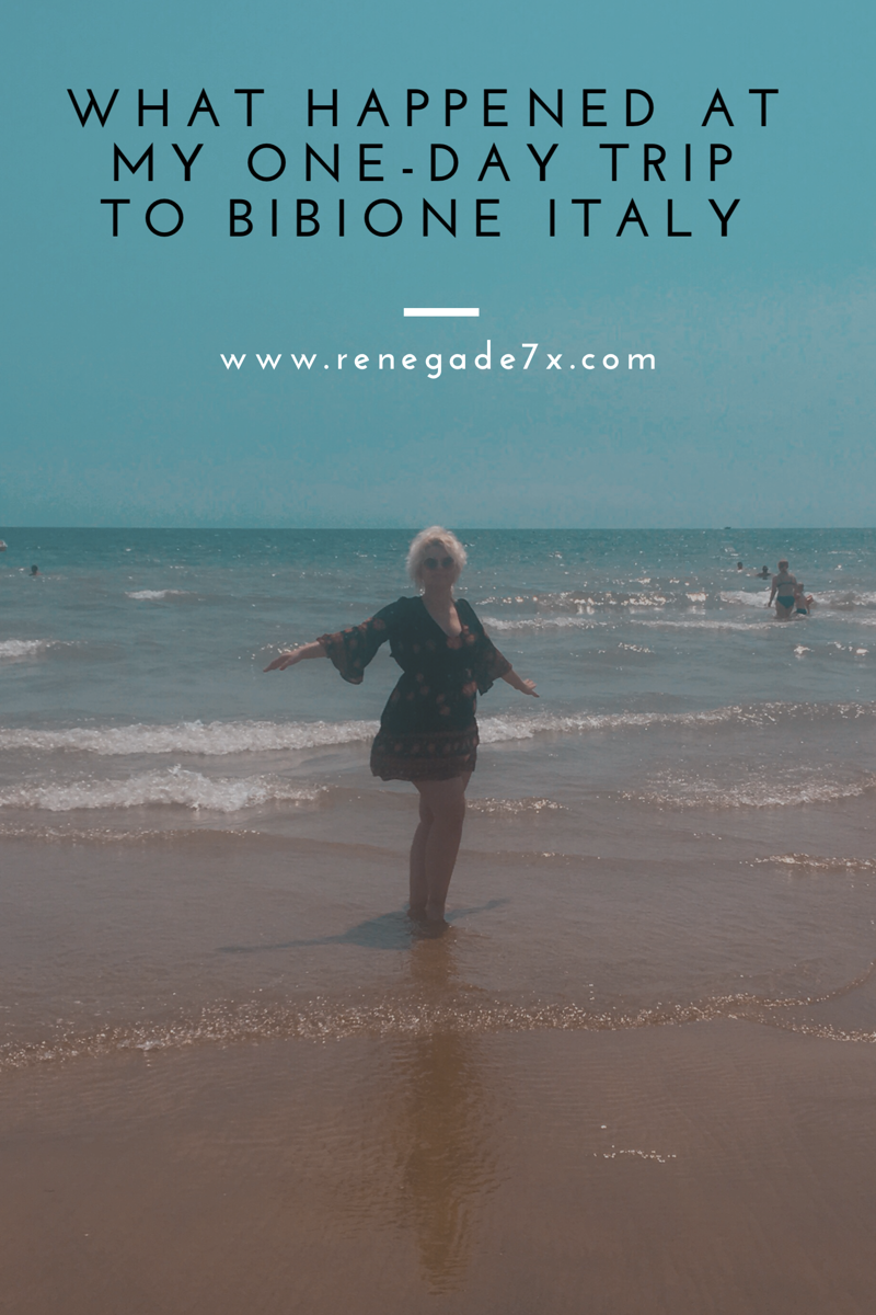 What happened at my one-day trip to Bibione Italy
