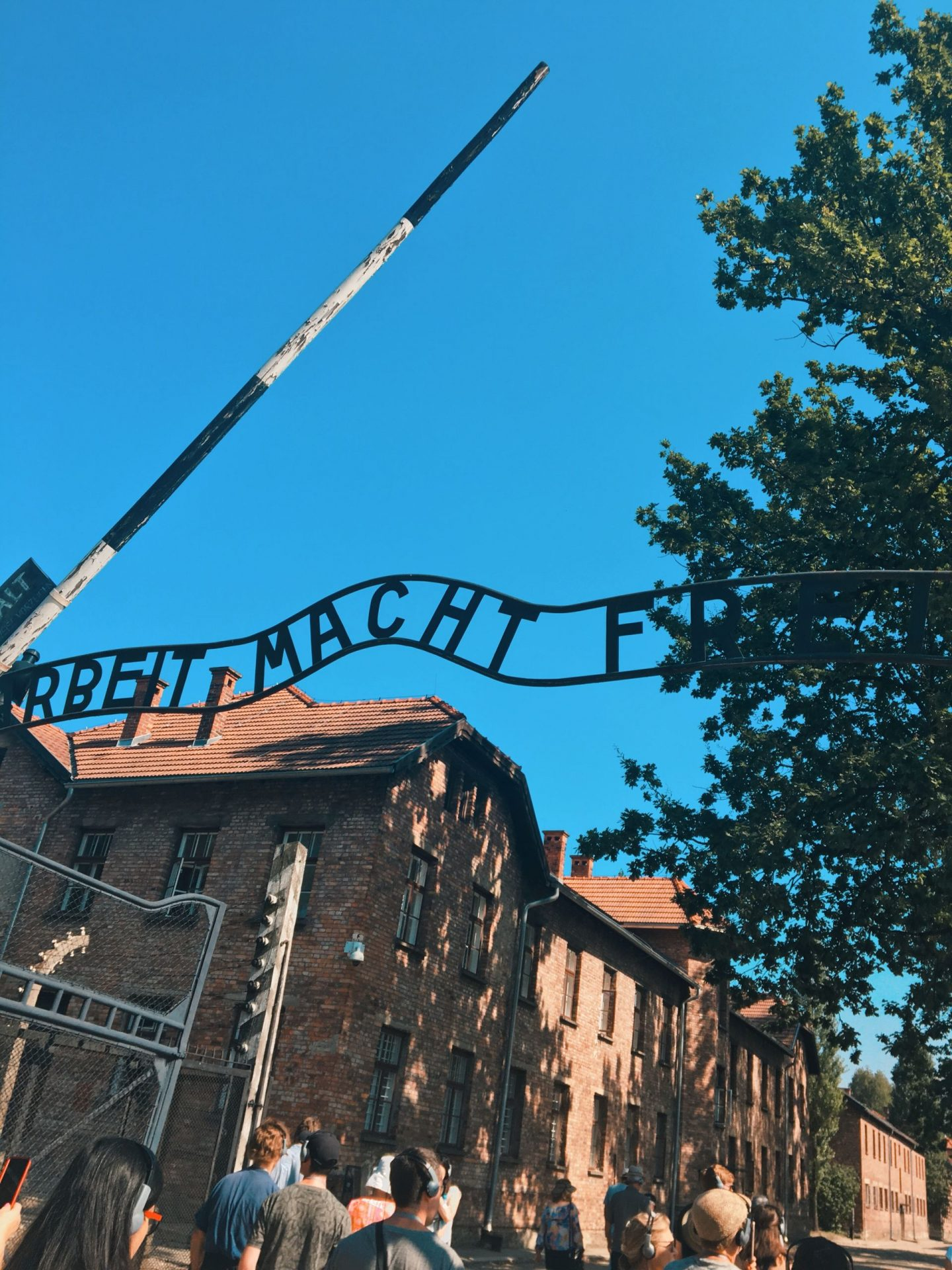 Auschwitz concentration camp and the dilemma of selfies