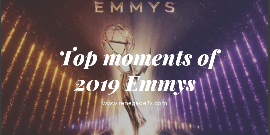 Top moments of 2019 Emmys