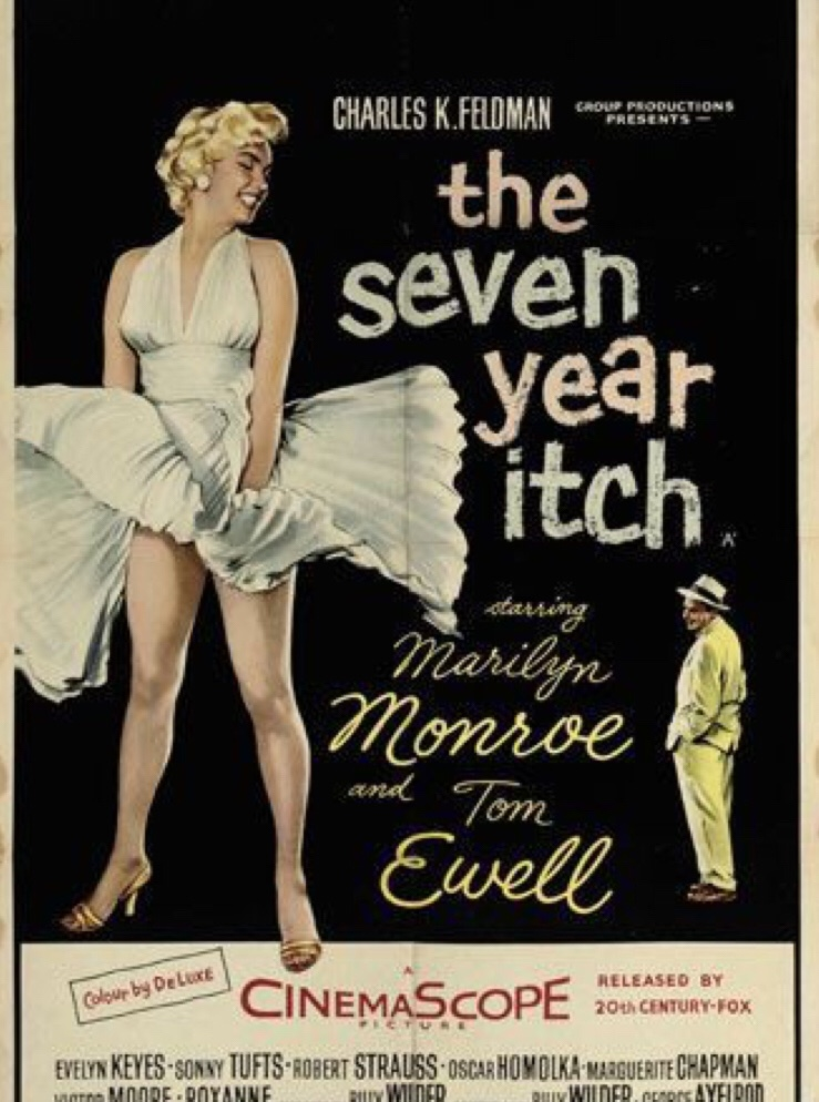 The Seven Year Itch with Marilyn Monroe