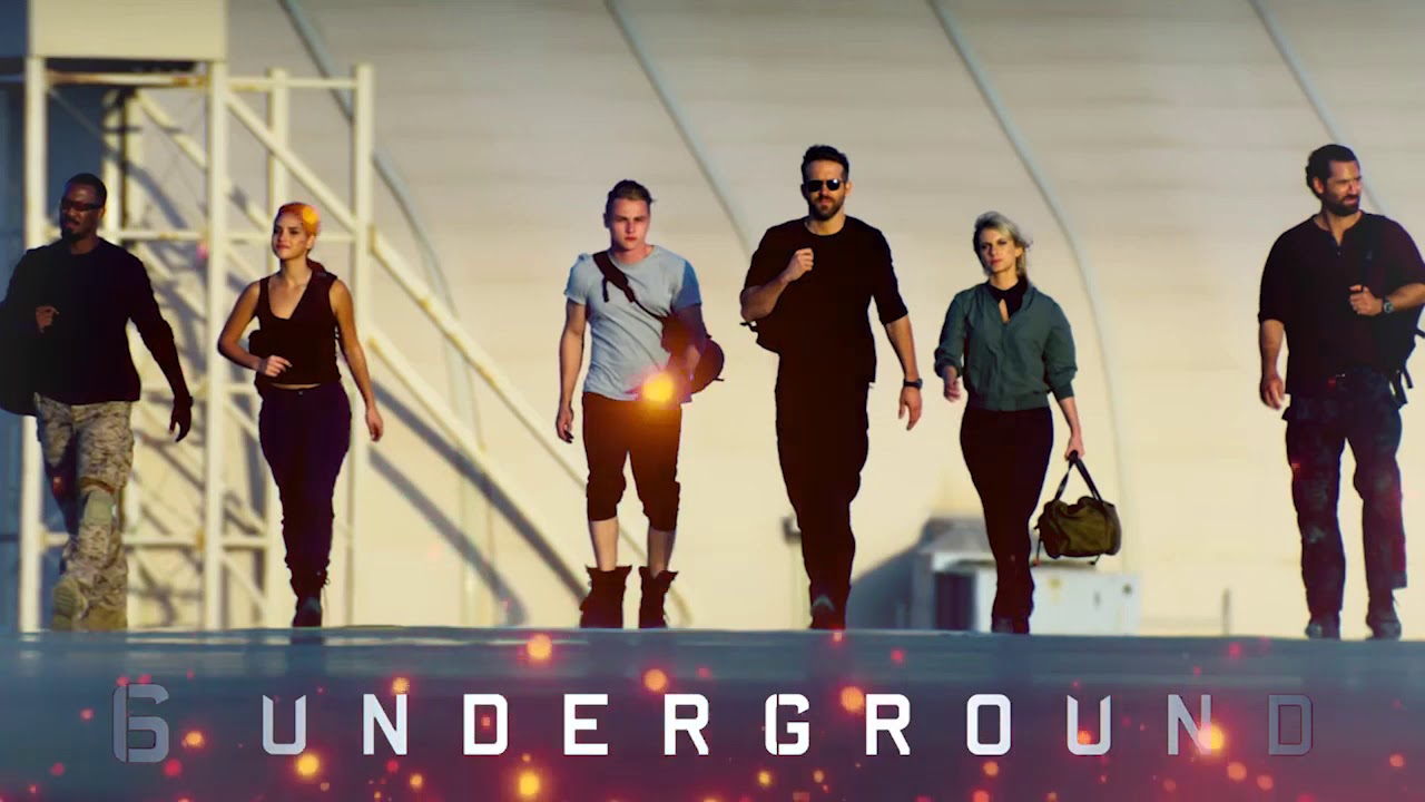 6 Underground on Netflix is exactly what you'd expect