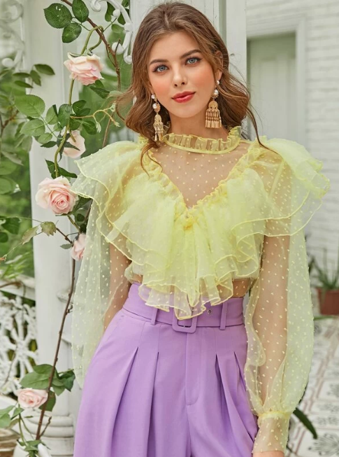 Super Retro Romantic looks by Shein