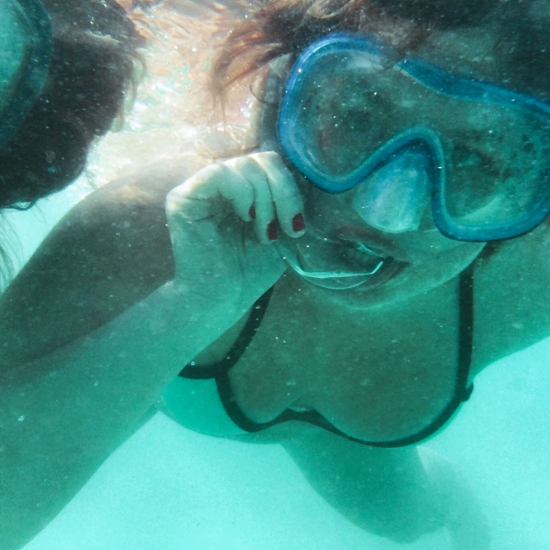 Snorkeling in Coral Beach was no Fun